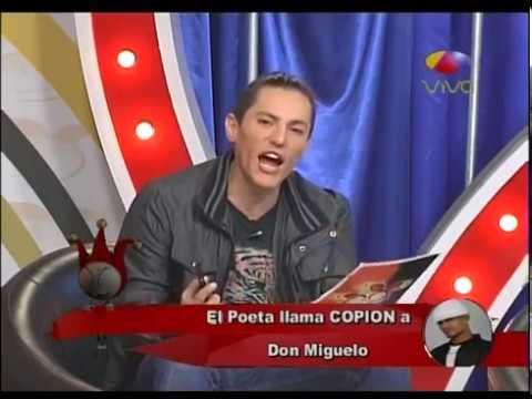 El Poeta Callejero llama copion a Don Miguelo comentan Los Dueños Del Circo