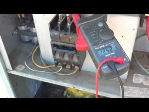 HVAC Bad Compressor Lock Rotor Amps (LRA)