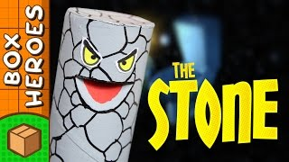 The Stone - DIY Paper Roll Crafts | Box Heroes on Box Yourself