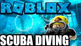 ROBLOX ENGLISH SCUBA DIVING ? THE TERROR OF THE DEPTHS PiViTrOn
