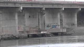 En lazaro Cardenas Bajo los puentes del rio Balsas Entre Michoacan y Guerrero