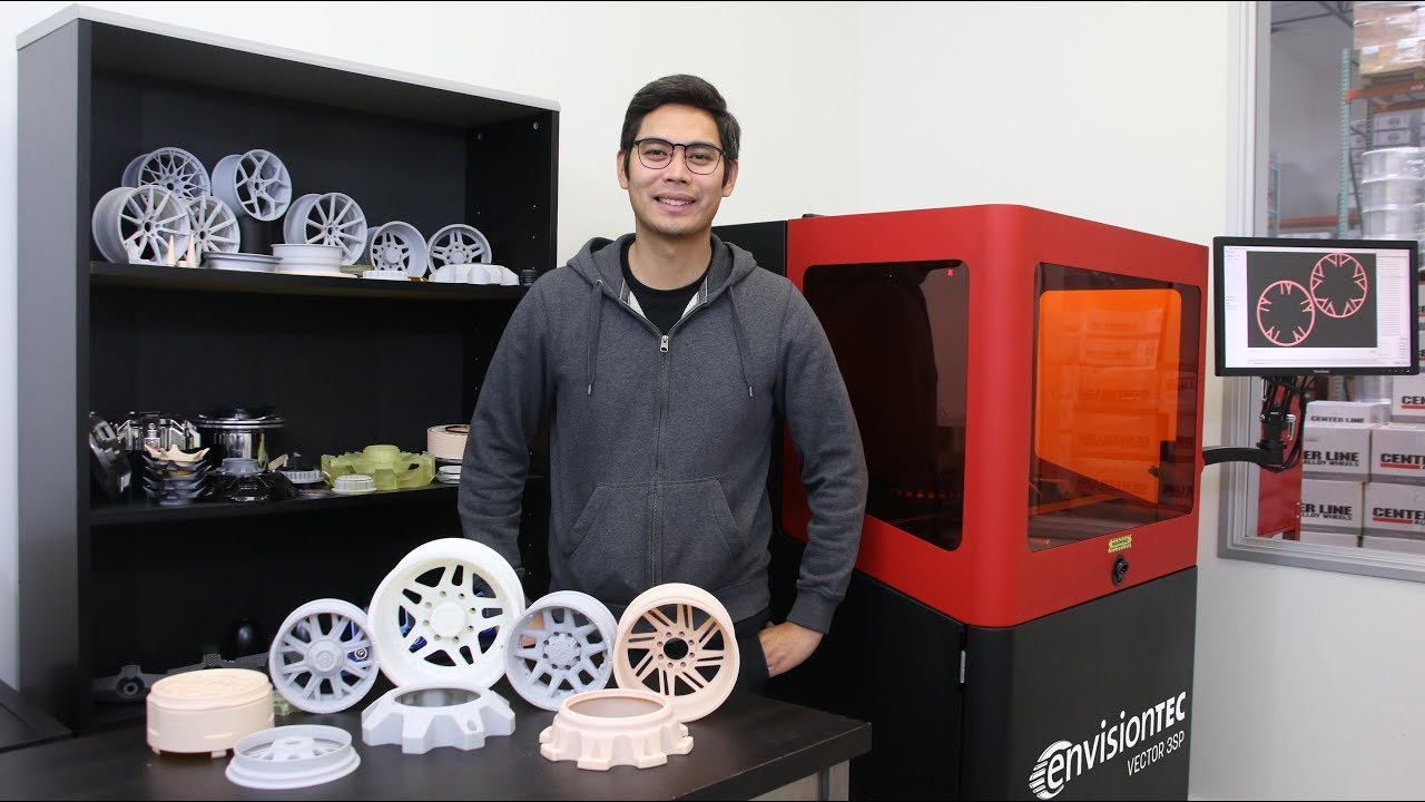 Design Infini - 3D Printing Transforming Wheel Manufacturing Business