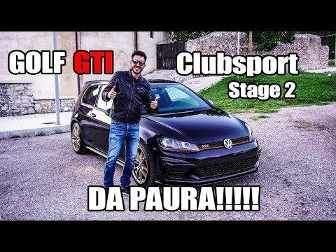 GOLF GTI CLUBSPORT DA PAURA!!!! CUSTOM STAGE 2 TUNED by SDS
