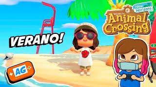 LLEGA el VERANO en Animal Crossing NEW Horizons 🌴 🥥 Español