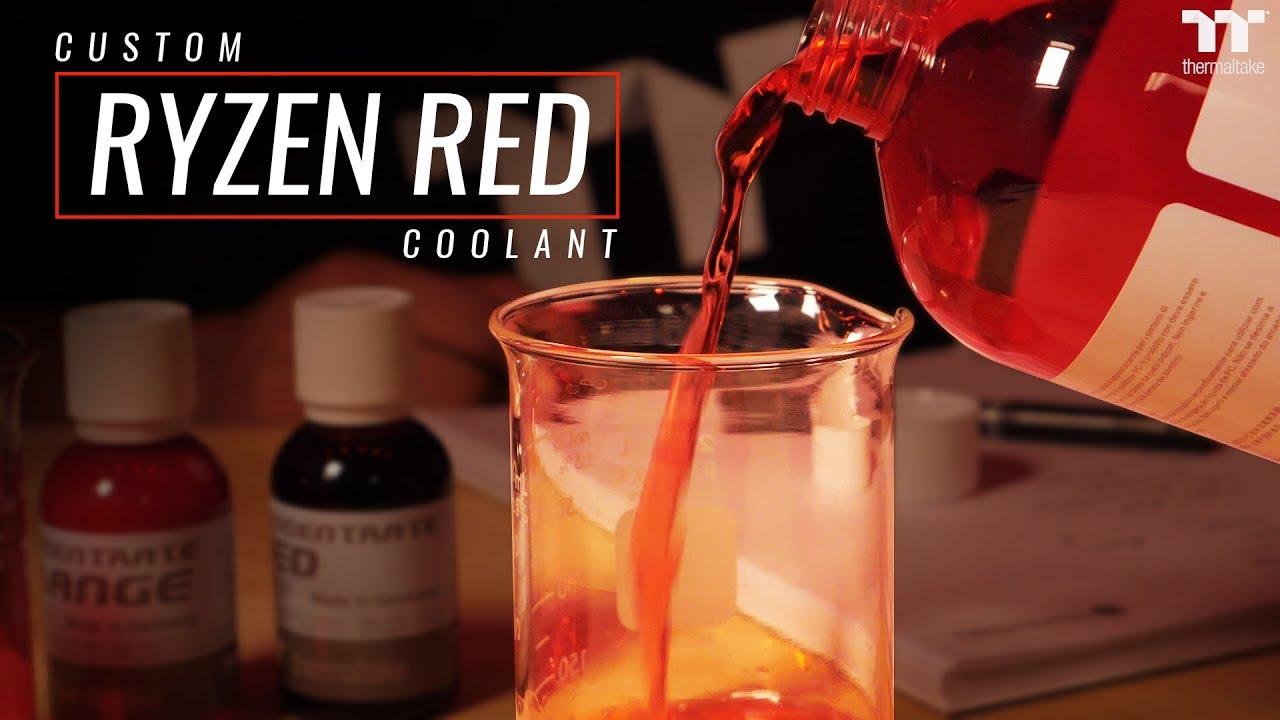 Thermaltake Custom Coolant RYZEN RED