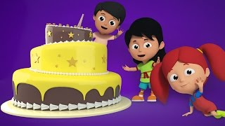 Happy Birthday Song | Nursery Rhymes For Kids And Childrens | Birthday Cake