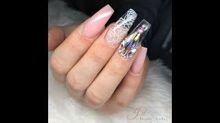 Glass Nail | Acrylic Nail Design