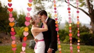 Украшение зала на свадьбу. Своими руками