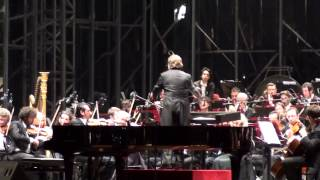 GERSHWIN - CUBAN OVERTURE - CHAILLY - FILARMONICA SCALA - MILANO, PIAZZA DUOMO, 1 GIUGNO 2013