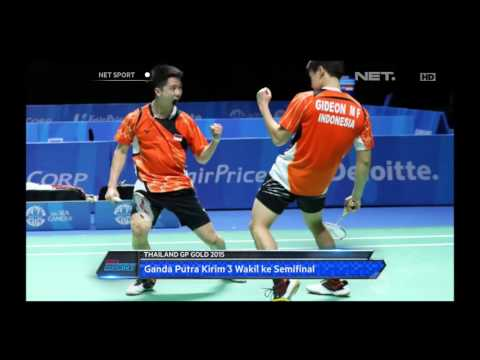 6 Wakil Indonesia Lolos ke Semifinal Thailand GP Gold 2015 - NET Sport Mp3