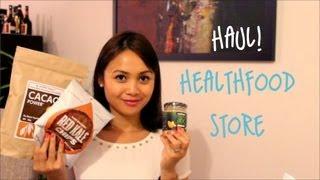 Healthfood store haul!