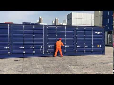 container maritime 20 pieds am nag studio 20ft shipp doovi. Black Bedroom Furniture Sets. Home Design Ideas