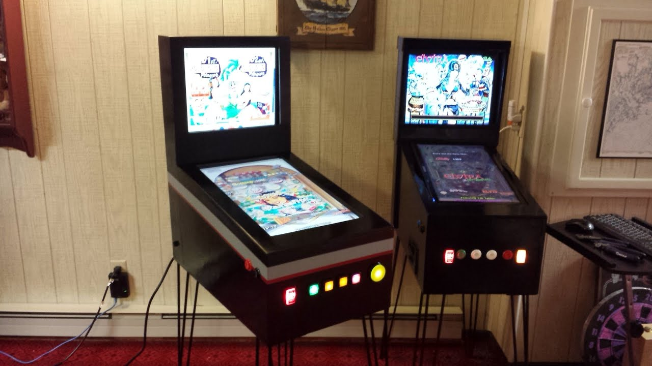 The Pinbaby my new mini size Virtual Pinball machine