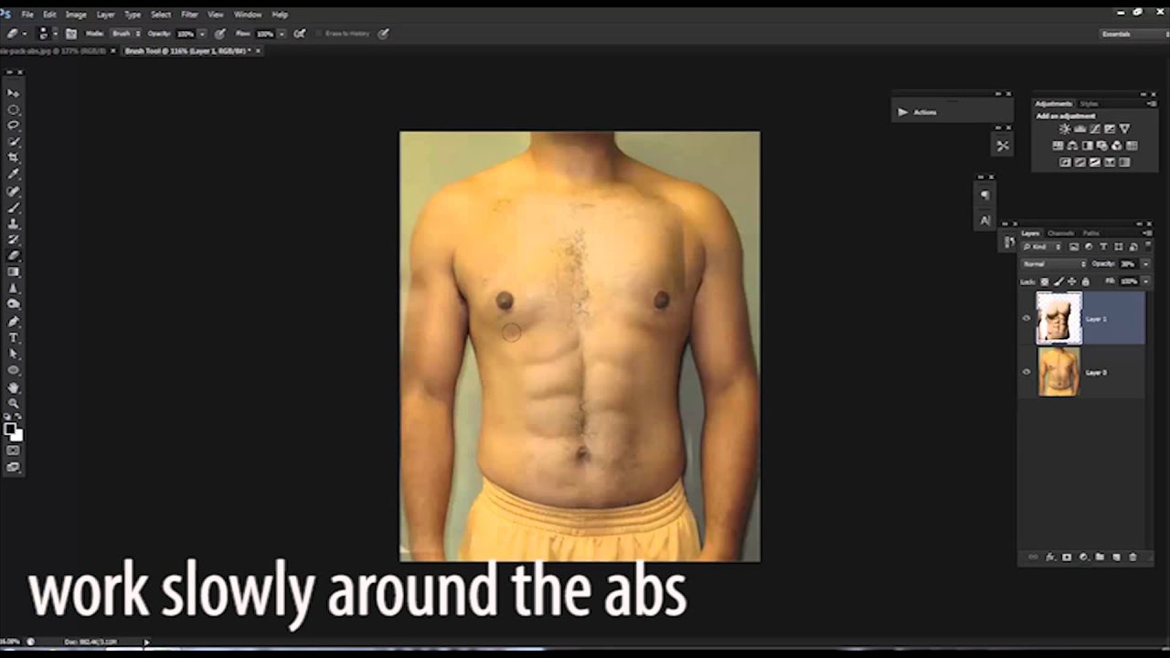 How to Fake Abs