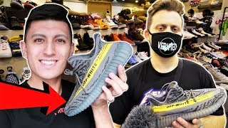 SNEAKERHEADS REACT to OFF-WHITE YEEZYS at SNEAKERCON!