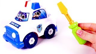 Building a Police Car Toy for Children