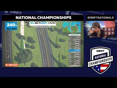 2018 Zwift National Championships - USA & Canada