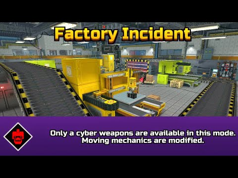 Pixel Gun 3D | Factory Incident Cyber Weapons [Brawl Gameplay]