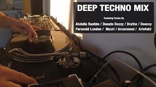 Deep Techno Mix | With Tracklist | Vinyl Mix