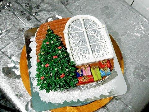 НОВОГОДНИЙ ТОРТ от SWEET BEAUTY СЛАДКАЯ КРАСОТА, Cake Decoration