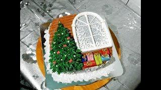 НОВОГОДНИЙ ТОРТ от SWEET BEAUTY СЛАДКАЯ КРАСОТА Cake Decoration