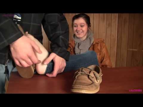 Epic sexy girls tickle #7 Kat barefoot tickle from YouTube · Duration:  44 seconds