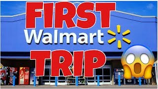 FISRT TIME AT WALMART | SHOP WITH ME | NYC MOM