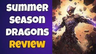 War Dragons Summer Season Dragons Review! (COMING SOON!)