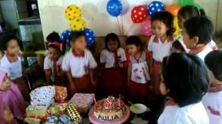 Aulia ulang tahun yg ke 4