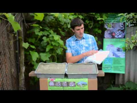 видео: Армирование садовых дорожек при помощи фиброволокна ВСМ