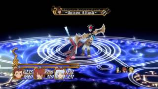 Tales of Symphonia PC w/ mods - Hero Trio fight (Mania mode, level 85) with commentary
