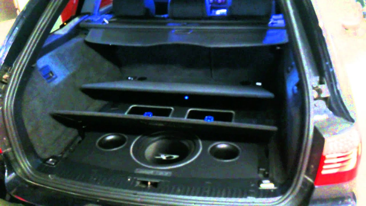 Bmw 5 E61 Alpine Hifi Installation Youtube