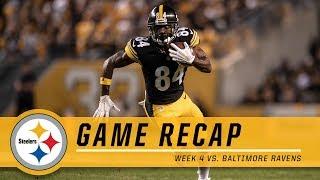 Week 4: Pittsburgh Steelers vs. Baltimore Ravens | Game Recap