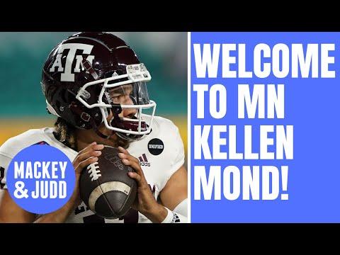 Kellen Mond is exactly what Minnesota sports needs