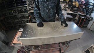 вакуумный стол для обертки стеклопластика и карбона(самодельный вакуумный стол для обтяжки целлофаном заготовок из стеклопластика и карбона., 2016-03-01T03:37:24.000Z)