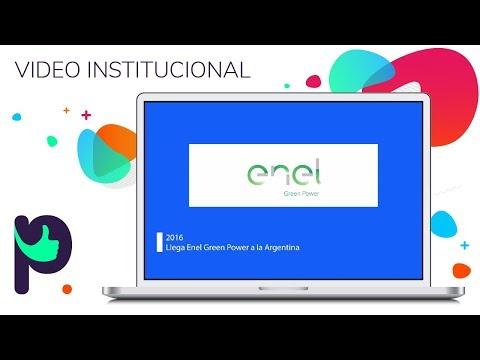 VIDEO INSTITUCIONAL (2016) ENEL Arg- Italia