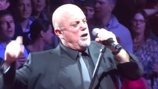 Repeat youtube video Uptown Girl - Billy Joel - Madison Square Garden 12/18/14