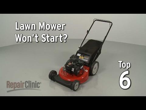 Top Reasons Lawn Mower Not Starting — Lawn Mower Troubleshooting