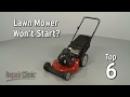 watch he video of Top Reasons Lawn Mower Not Starting — Lawn Mower Troubleshooting