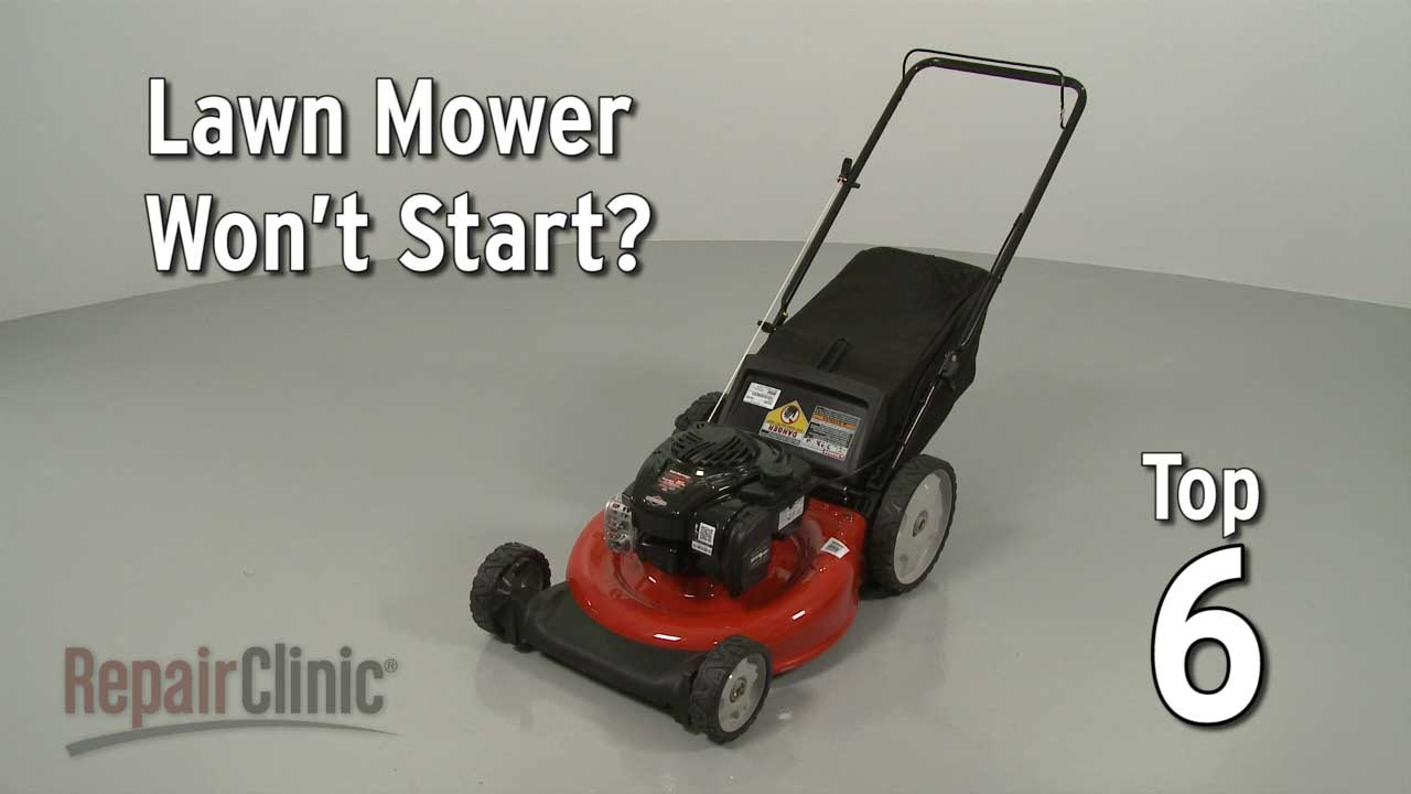 Top Reasons Lawn Mower Not Starting Troubleshooting