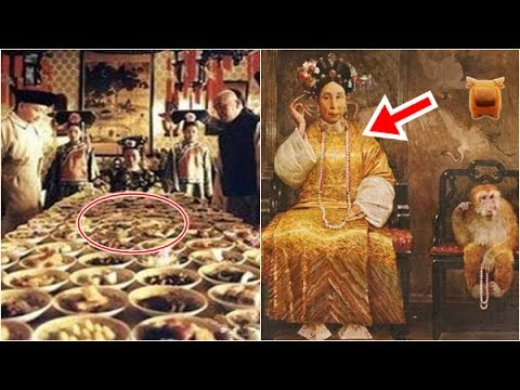 """慈禧太后生活有多奢侈?看到她""""吃苹果的方  式"""",所有人都惊呆了!这也太扯了吧...!"""