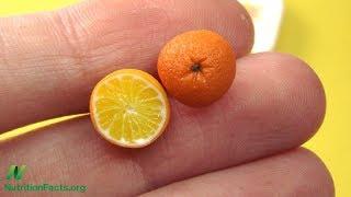 Zahřejte si ruce s citrusovým ovocem