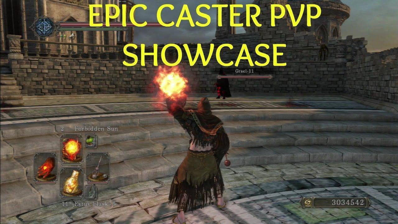 Dark Souls  Dark Caster Build