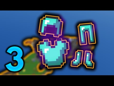 Minecraft SKYBLOCK Prezivljvanje E03 - OP ARMOR !