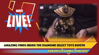 Look Inside the Diamond Select Toys Booth with Marvel at SDCC 2018