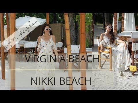 What I Wear To The Beach | Virginia Beach x Nikki Beach
