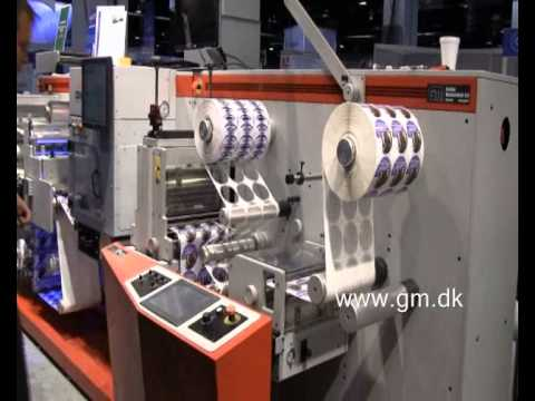 Laser die cutter for self adhesive labels (2010 version)