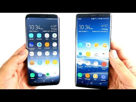 Should You Buy Galaxy S8 Plus or Galaxy Note 8 (Full Comparison)