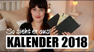 ELLA KALENDER 2018 I SO SIEHT ER AUS