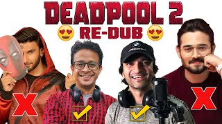 Deadpool 2 is BACK with Original Dubbing ?